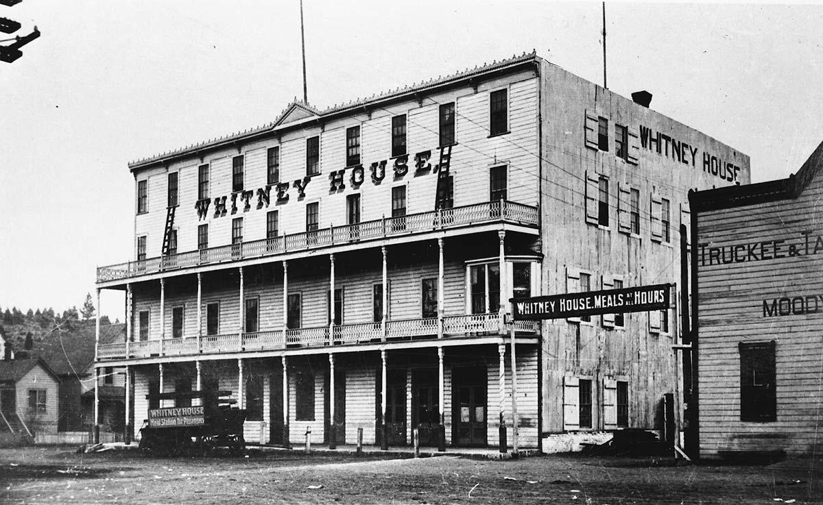 Historic Truckee Hotel, Location of Moody's Bistro