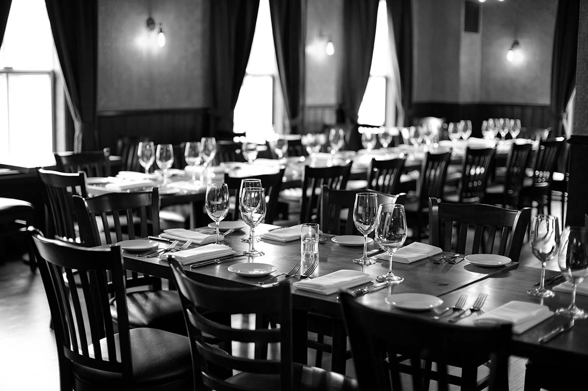 Private dining at Moody's